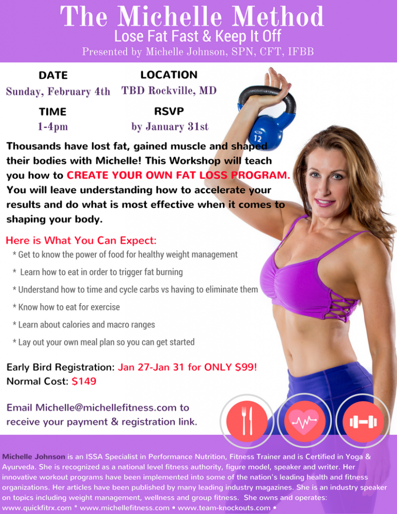 The Michelle Method - Weight Loss Seminar